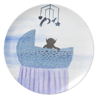 Changeling Child Plate