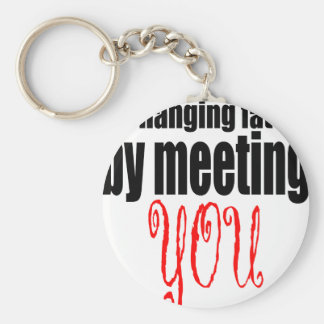 changing fate meeting you flirting technique prom basic round button key ring