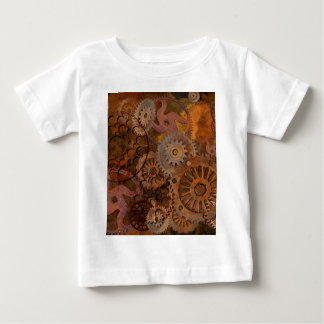Changing Gear - Steampunk Gears & Cogs Baby T-Shirt
