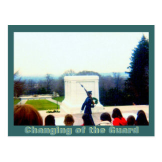 Changing of the Guard Postcard