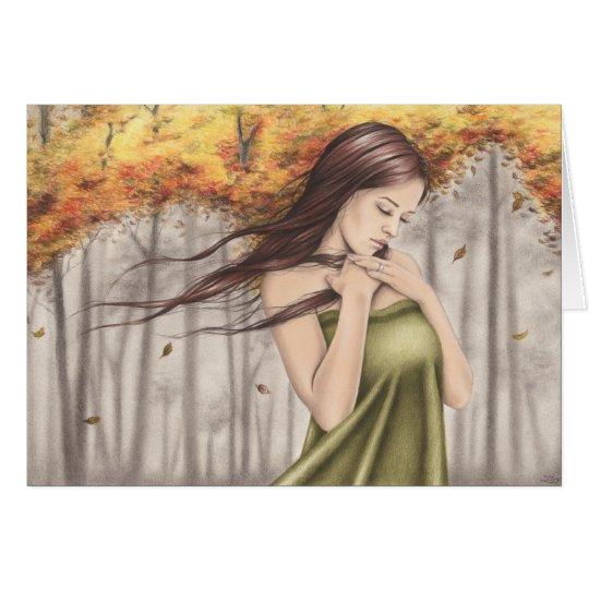 Changing Seasons Autumn Greeting Card
