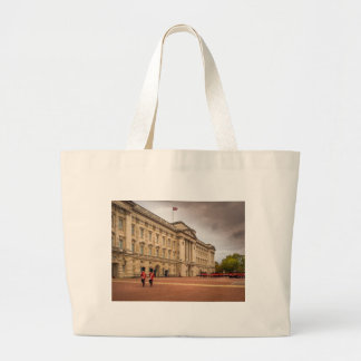 Changing the Guard Large Tote Bag