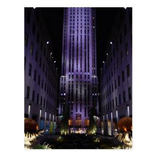 Channel Gardens Fifth Avenue New York City NYC Postcard