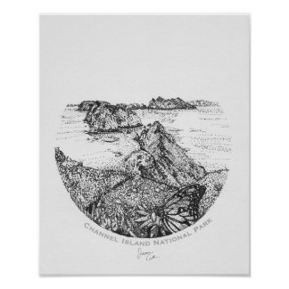Channel Island National Park Poster