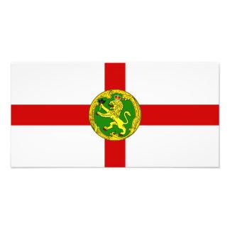 Channel Islands - Alderney Flag Photo Print