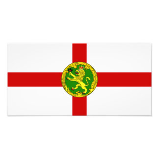 Channel Islands - Alderney Flag Photo Print