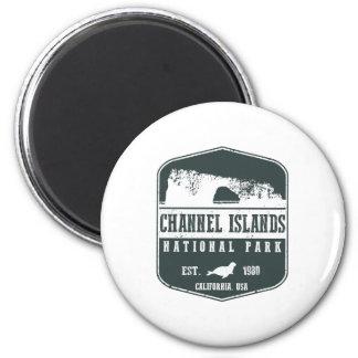 Channel Islands National Park 6 Cm Round Magnet