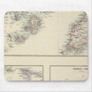 Channel Islands, Scilly Islands, and Isle of Man Mouse Pad