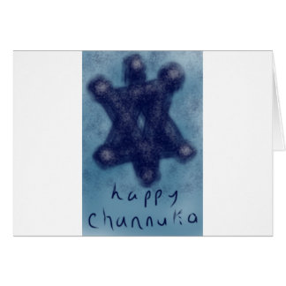 Channukah Star Card