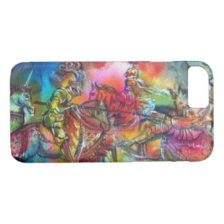 CHANSON DE ROLAND/ COMBAT OF KNIGHTS IN TOURNMENT iPhone 8/7 CASE