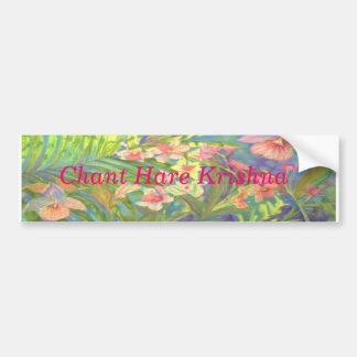 Chant Hare Krishna Bumper Sticker