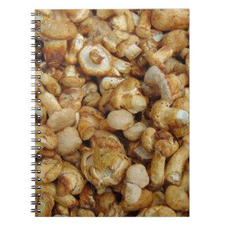 Chantarelles Spiral Notebook