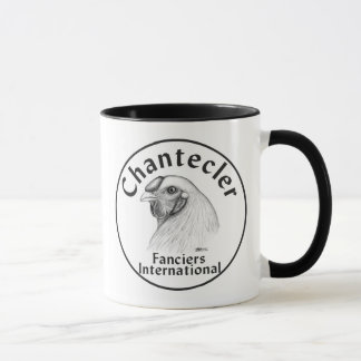 Chantecler Fanciers Logo Mug