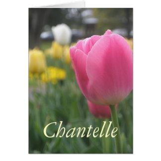 Chantelle Card