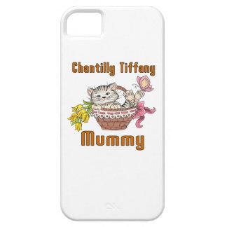 Chantilly Tiffany Cat Mom iPhone 5 Cover