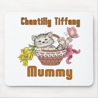 Chantilly Tiffany Cat Mom Mouse Pad