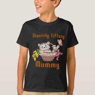 Chantilly Tiffany Cat Mom T-Shirt