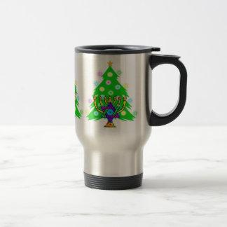 Chanukah and Christmas Mugs