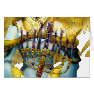 Chanukah Angel Card