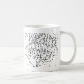 Chanukah Angel Coffee Mugs