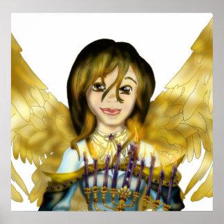 Chanukah Angel Poster