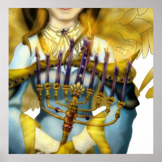 Chanukah Angel Print