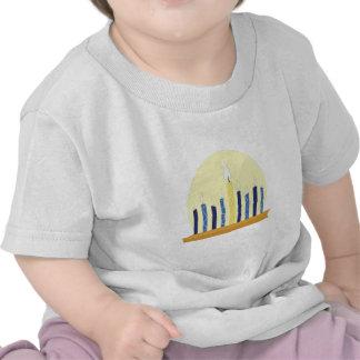 Chanukah Candles Tee Shirt
