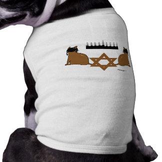 Chanukah Cats Pet Sweater Shirt