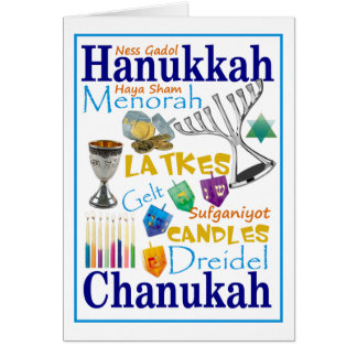 Chanukah Collage Card