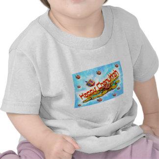Chanukah Flying Dreidels T-shirt