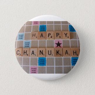 Chanukah Game 6 Cm Round Badge