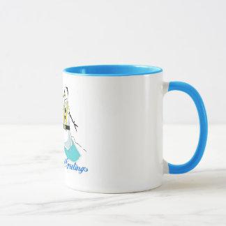 Chanukah Greetings Mug