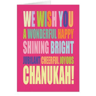 Chanukah/Hannukah Greeting Greeting Card