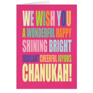 Chanukah/Hannukah Greeting Greeting Card