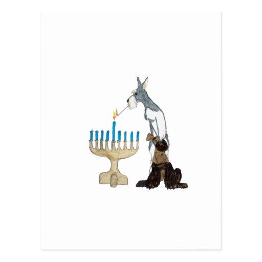 chanukah ( Hanukkah ) card Post Card