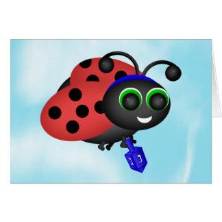 Chanukah Ladybug Greeting Cards