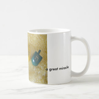 Chanukah Classic White Coffee Mug