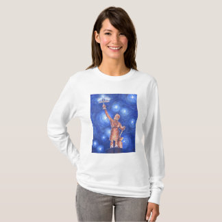 Chanukah Vulcan Women's Long-Sleeve T-Shirt