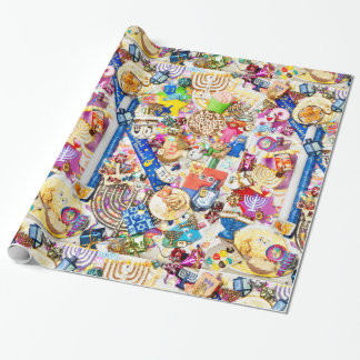 """Chanukah Wrapping Paper, 30"""" x 6' Wrapping Paper"""