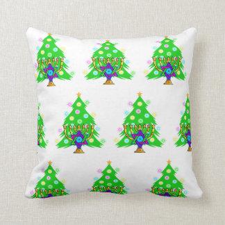 Chanukkah and Christmas Cushion