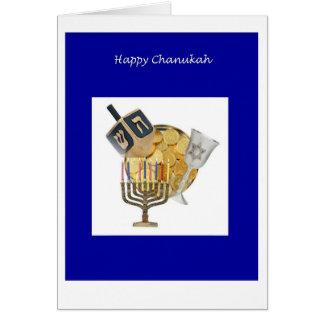 Chanukkah Dreidel Greeting Card