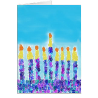 Chanukkah Greetings Card