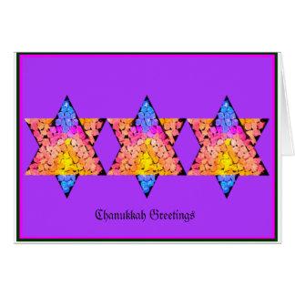 Chanukkah Greetings Greeting Card