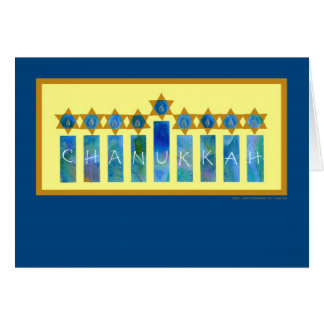 Chanukkah Lights Card
