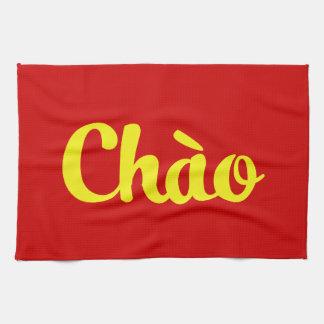 Chào / Hello ~ Vietnam / Vietnamese / Tiếng Việt Tea Towel