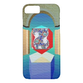 CHAOS AND ORDER TEMPLE Surreal Fractal Art iPhone 8/7 Case