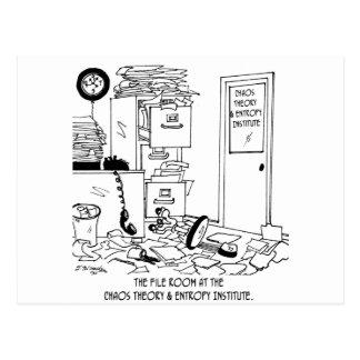 Chaos Cartoon 6292 Postcard
