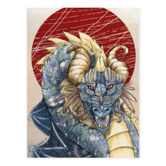Chaos Dragon Postcard