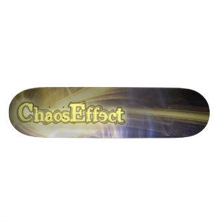 chaos effect skateboard deck