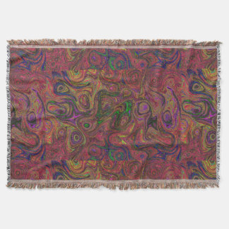 Chaos Fire Stone 2 Throw Blanket